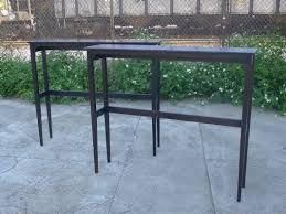 tall narrow long bar table  google search  the creek house