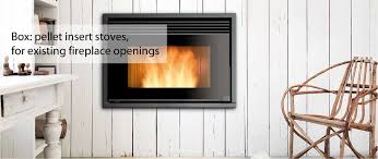 ravelli box a range insert wood pellet stoves to fit your fireplace