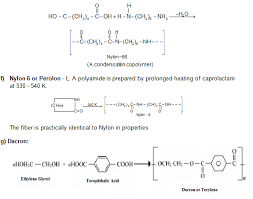 Monomer And Polymer Chart Revision Notes On Polymers Askiitians