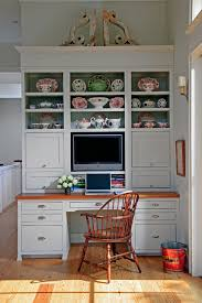 computer hutch home office traditional. computer desk hutch kitchen traditional with beadboard backing book storage built in cabinets home office e
