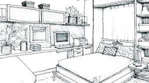 interior design bedroom drawings. Interior Design Sketches Drawing For Room Photos . Bedroom Drawings R
