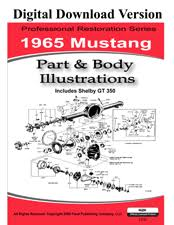 1965 mustang shop manual 1965 1972 ford car master parts and accessory catalog pdf 6000 pages thousands of part numbers and diagrams
