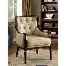 grey accent chair with arms. Chair:Classic Design Living Room With Tufted Leatherette Accent Chair Gray Chairs Arms Surprising Grey W