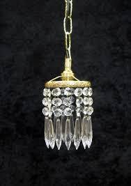 italian art deco crystal glass chandelier pendant la136375 loveantiques com