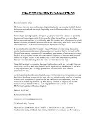 Letters Of Recommendation For Student Teachers Template