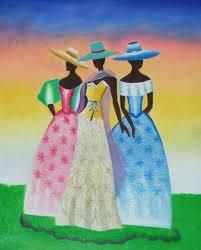 african american art black beauties oil painting