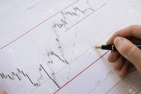 Stock Market Charts And Graphs Stock Market Chart On Forex Charts And Money Live Online Screen