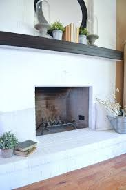 metal fireplace surround ideas cover brick with stone tile faux