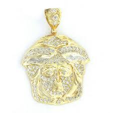 10k gold medusa face 435 01635