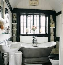 black and white bathrooms images. image from apartmenttherapy.com black and white bathrooms images