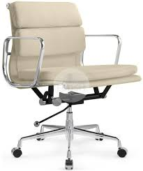 office chair eames. Side View Eames Soft Pad Office Chair Leather