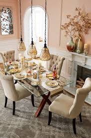 tempered glass dining table christopher elegant touches add up to a thanksgiving dinner that dazzles start wit