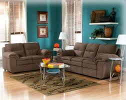 Choosing dark or light brown living room furniture is a good choice. Brown  colors are welcoming ...