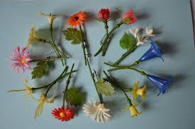 10 Stück Ddr Frauentagsblümchen Ansteckblumen Deko Plaste