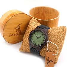 aliexpress com buy bobo bird mens green wood face wooden bamboo aliexpress com buy bobo bird mens green wood face wooden bamboo watches luxury wooden bamboo watches leather quartz watch bamboo box 2017 from