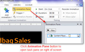 Powerpoint Animations Animate Specific Parts Of A Chart In Microsoft Office 365 Powerpoint
