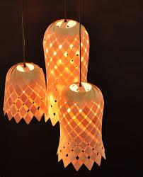 Flower Veneer Lampshade by Vayehi on Etsy, $195.00