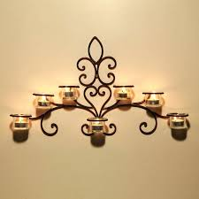 iron wall sconces for candles iron wall sconce candle holder metal wall art candle sconces
