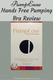 Pumpease Size Chart Pumpease Hands Free Pumping Bra Review Themonarchmommy