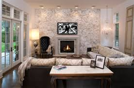 20 painted brick fireplaces in the living room my decor home
