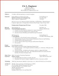 Elegant Example Of A Resume Resume Pdf