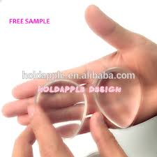 silicone makeup applicator. silicone gel transparent foundation clear makeup puff cosmetic tools sponge ha01801 applicator