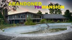 ABANDONED 70S MANSION WITH ABANDONED BASEMENT POOL YouTube