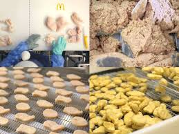How Mcdonalds Mcnuggets Are Made The Step By Step Process
