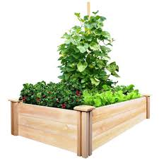 garden bed kit. Cedar Raised Garden Bed Kit