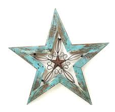 star wall decor black metal