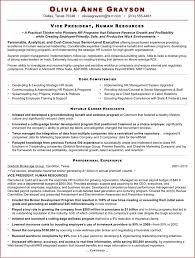 Most Effective Resume Format New Good Hr Executive Cv Sample Resume
