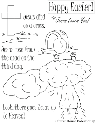 Coloring Pages Religious Education Bible Best Is Easter Biblical