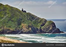Pacific Coast Landscape Design Inc Pacific Coast Landscape California Usa Stock Photo