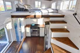 Small Picture Custom Mobile Tiny House With Large Kitchen And Two Lofts