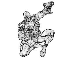 Small Picture Deadpool Vs Deathstroke Coloring Pages For Pinterest Coloring Home