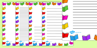 Small Picture Colorful Book BorderBookPrintable Coloring Pages Free Download