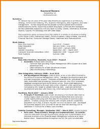 Project Manager Resume Template Microsoft Word Elegant Job Resume