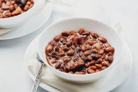 southern crock pot pinto beans with ham