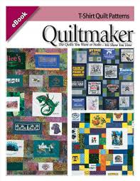 T Shirt Quilt Patterns Custom TShirt Quilt Patterns EBook