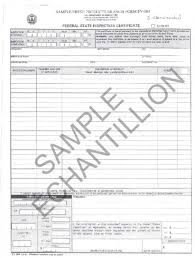 certification of identification form form 186 d 96 05 phytosanitary requirements for the importation and