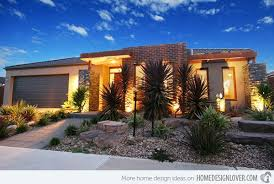 Modern Desert Front Yard