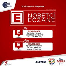 Şile Belediyesi - NÖBETÇİ ECZANE 💊💉👩⚕️ - İPEK ECZANESİ 📍...   Facebook