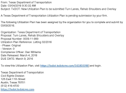 Txdot Organizational Chart Prime Contractors Dbe Guide Submitting A Utilization Plan