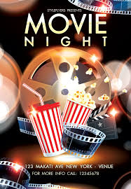 Free Movie Night Flyer Templates Free Movie Night Party Flyer Psd Template By Styleflyer Com