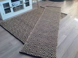 contemporary black and cream rugs for stylish geometric indian hand loomed rug available designs 9
