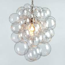 glass bubble chandelier brilliant regarding large with diy tutorial chandeliers drinking game