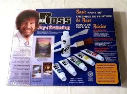bob ross painting set bob joy of painting basic oil color paint set brand new sealed