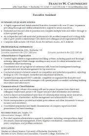 Resume Template Executive Assistant Executive Assistant Resume Samples And Tips