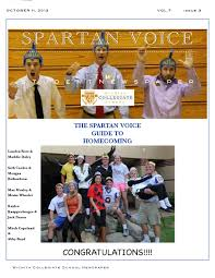 Spartan voice Vol. 7 #4 by Amy Cunningham - issuu