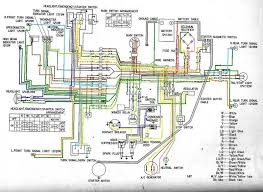 honda cb450 glenn s wiring diagram color coded